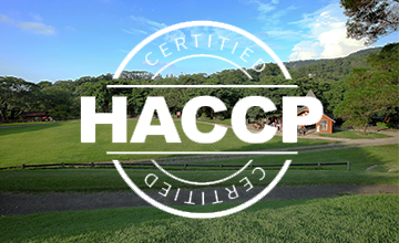 In 2011, our dairy product processing factory received 'Hazard Analysis and Critical Control Points (HACCP)' certificate.